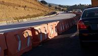Por obras y accidente, cerrados ambos sentidos de la México-Puebla