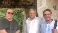 Conviven AMLO y Silvio Rodríguez en Chiapas, previo a toma de protesta
