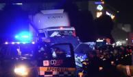Empresa del tráiler apoya investigación de accidente en la México-Toluca