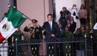 Francisco García encabeza Grito de Independencia en Tamaulipas