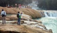 Identifican por qué se están secando las cascadas de Agua Azul