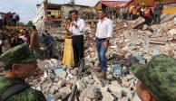 Presidencia niega intermediarios para llevar ayuda tras terremoto