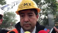 Van 18 personas rescatadas del multifamiliar Tlalpan