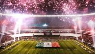 Prevén derrama económica de 45 mdd por juego entre Raiders y Patriotas