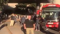 Patriotas y Raiders llegan a la CDMX para enfrentarse en el Azteca