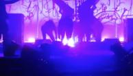 Marilyn Manson suspende shows tras caerle parte del escenario