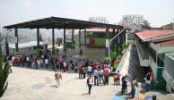 Casi la mitad de alumnos mexiquenses regresan a clases