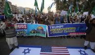 Estalla violencia en territorios palestinos tras decisión de Trump