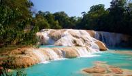 En Chiapas implementan medidas para mantener atractivo de Cascadas de Agua Azul