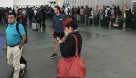 Concluye paro de pilotos de Aeroméxico en el AICM