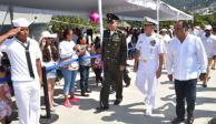 Buque Cuauhtémoc regresa a Acapulco tras 289 días de travesía