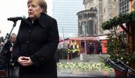 Admite Merkel que hubo fallas al atender ataque en Berlín
