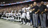 FOTOS: Jugadores de NFL no se doblegan y protestan contra Trump