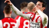 Chucky Lozano se despide de 2017 con gol y asistencia