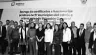 Capacita gobierno de Hidalgo a ayuntamientos en materia de valuación catastral