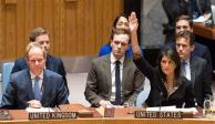 Embajadora de EU amenaza a ONU y a comunidad mundial por Jerusalén