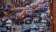 Intento de ataque terrorista la explosión en Nueva York, informa alcalde