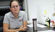 Sobrina de diputada de Morena insulta a reporteros por no aceptar pastel