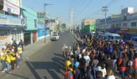 Tras balacera, impiden instalación de tianguis en Iztapalapa