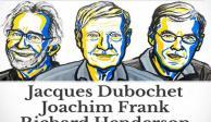 """Por """"congelar biomoléculas"""", dan Premio Nobel de Química a tres científicos"""