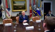 Trump pide a China convencer a Corea del Norte terminar con provocaciones