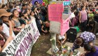 UNAM comparte indignación por muerte de Lesvy en CU