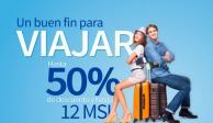 Lanza Interjet descuentos de hasta 50% por Buen Fin