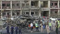 Ataque con camión bomba en Somalia; el más mortífero de su historia