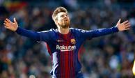 VIDEO: Messi dio el pase que selló el triunfo del Barsa… descalzo