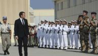 """Macron pronostica fin del Estado Islámico """"en unos meses"""""""