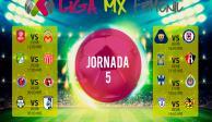 Calendario de la Liga Mx Femenil rumbo a la Jornada 5