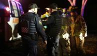 Policía cae a barranco de 25 metros en Chapultepec