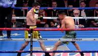 VIDEO: Boxeador casi pierde la oreja en pelea con un mexicano