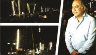 Héctor Astudillo inaugura nueva iluminación en la zona Diamante de Acapulco