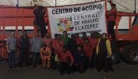 FOTOS: Comerciantes del Edomex envían 35 toneladas de ayuda a Oaxaca