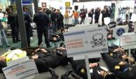 Alistan sanciones contra pilotos que están en paro en el AICM