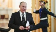 Putin acude personalmente a inscribir su candidatura