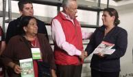 Avanza en 97% entrega de tarjetas para reconstrucción en Edomex