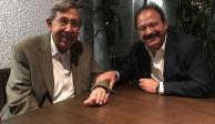 Se reúne Armando Ahued con el ingeniero Cárdenas