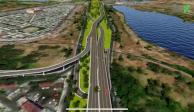 canal nacional, puente vehicular