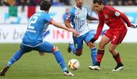 """""""Chicharito"""" regresa con empate a la Bundesliga"""
