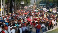 Prevén 3 marchas en calles de la CDMX