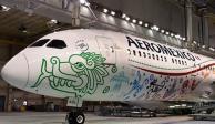 Aeroméxico se pone guapo con diseño de Quetzalcóatl