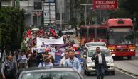 Alertan sobre 5 marchas en la CDMX