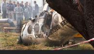 Mueren 10 personas tras caída de avioneta en India
