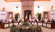 Sesionan en Dolores Hidalgo, Guanajuato, los gobernadores del PAN.