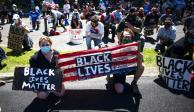 Protestas, George Floyd, Casa Blanca