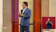 Rabindranath Salazar Solorio, director general del Banco de Bienestar,