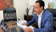 El gobernador de Hidalgo, Omar Fayad