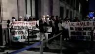 protesta CDMX palacio nacional